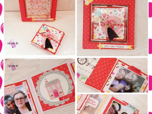 Un mini album in scatola!