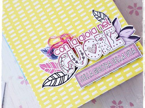 """Mini album """"Vivere a colori"""" per CreativeStudio"""