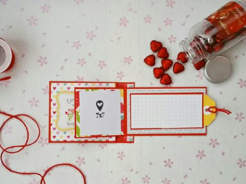 Card Pop-up per San Valentino